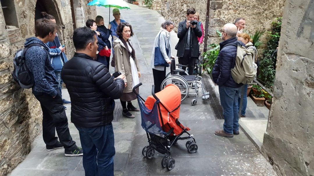 Inventing SARTEANO Accessible Experience